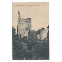 CPA - (37) - Montbazon - Le Donjon et la statue de la Vierge