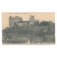 CPA - (37) - Luynes - le Chateau et les Douves