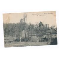 CPA - (37) - Chateaurenault - Ruines du Chateau et Tour de Carament