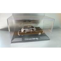 Citroen DS 19 dans sa boite cristale (plexi), 1/43, Modele presse reconditioné