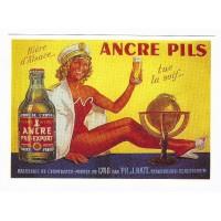 Carte Bière d'Alsace Ancre Pils - Centenaire Editions