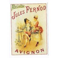 Carte Jule Pernod Absinthe - Centenaire Editions