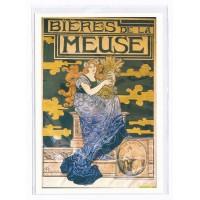 Carte Biere de la Meuse - Centenaire Editions