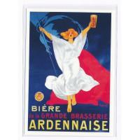Carte Biere de la Grande Brasserie Ardennaise - Floriage
