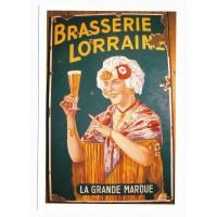 Carte Brasserie Lorraine - Floriage