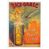 Carte Bock Orbec boisson gazeuse - L'avion postal