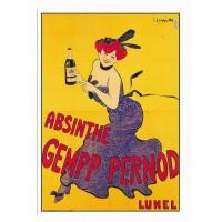 Carte Absinthe Gempp Pernod - Claude Aubert Editeur