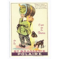 Carte Bière Polaire - Centenaire Editions