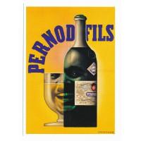 Carte Pernod Fils - Claude Aubert Editeur