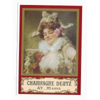 Carte Postale 10x15 Champagne Deutz - Centenaire Editions