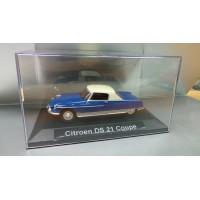 Citroen DS 21 Coupé dans sa boite cristale (plexi), 1/43, Modele presse reconditioné