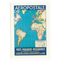 Carte Aeropostale - Collection Musée Air France