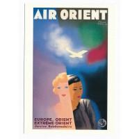 Carte Air Orient - Collection Musée Air France