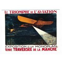 Carte Le Triomphe de l'aviation Tourisme - Centenaire Editions