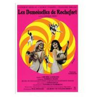 Carte Affiche de film Les Demoiselles de Rochefort - Centenaire Editions