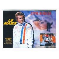 Carte Affiche de film Le Mans - CVB Publishers