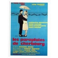 Carte Affiche de film Les parapluies de Cherbourg - Editions F.Nugeron