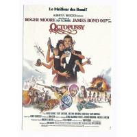 Carte Affiche de film Octopussy - Editions F.Nugeron