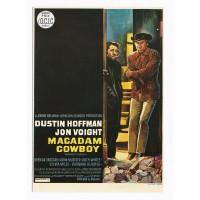 Carte Affiche de film Macadam Cowboy - Editions F.Nugeron