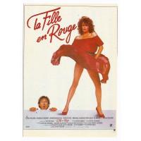 Carte Postale 10x15 Affiche de film La fille en Rouge - Editions F.Nugeron