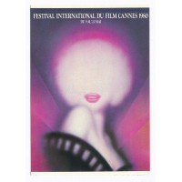 Carte Affiche Festival International du Film Cannes 1980 - Editions F.Nugeron