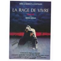 Carte Affiche de Film La Rage de Vivre - Editions F.Nugeron
