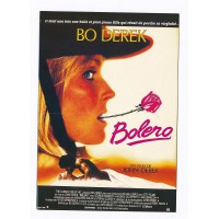Carte Affiche de Film Bolero - Editions F.Nugeron
