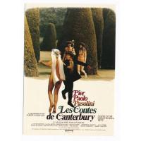 Carte Affiche de Film Les contes de Canterbury - Editions F.Nugeron