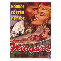 Carte Postale 10x15 Affiche de Film Niagara - Editions F.Nugeron