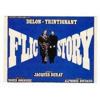 Carte Affiche de Film Flic Story - Editions F.Nugeron