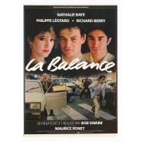 Carte Postale 10x15 Affiche de Film La Balance - Editions F.Nugeron