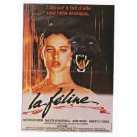Carte Postale 10x15 Affiche de Film La Féline - Editions F.Nugeron