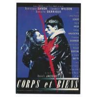 Carte Postale 10x15 Affiche de Film Corps et Biens - Editions F.Nugeron