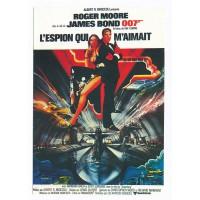 Carte Postale 10x15 Affiche de Film L'espion qui m'aimait - Editions F.Nugeron