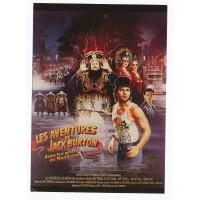 Carte Postale 10x15 Affiche de Film Les aventures de Jack Burton - Editions F.Nugeron