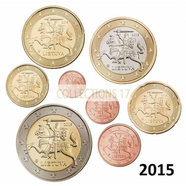 Série Lituanie 2015 - 8 Pièces