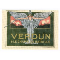 Carte La bataille de Verdun - Floriscope