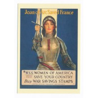 Carte Affiche patriotique Americaine - Floriscope