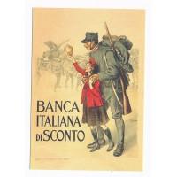 Carte Affiche Patriotique Italienne - Floriscope