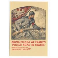 Carte Affiche de recrutement pour la légion polonaise - Floriscope