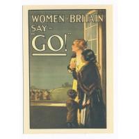 Carte Affiche patriotique britannique - Floriscope