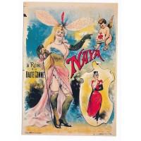 Carte Naya la reine de la haute gomme - Editions F.Nugeron