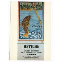 Carte Affiche composée par les enfants de France - Editions F.Nugeron
