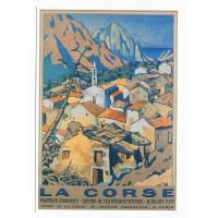 Carte La Corse Eviza - Editions Clouet