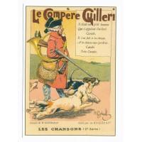 Carte Les chansons française Compère Guilleri - Centenaire Editions