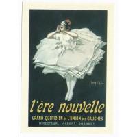 Carte Vieilles affiches L'ère nouvelle - Editions F.Nugeron
