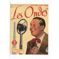Carte Les Ondes Maurice Chevalier - Floriscope