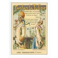 Carte Les chansons Française Fanfan la tulipe - Centenaire Editions