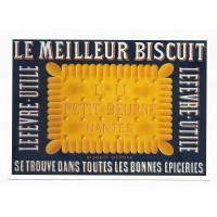 Carte Le meilleur biscuit LU petit beurre Nantes - Centenaire Editions