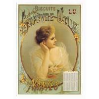 Carte Biscuit Lefevre Utile Nantes - Centenaire Editions